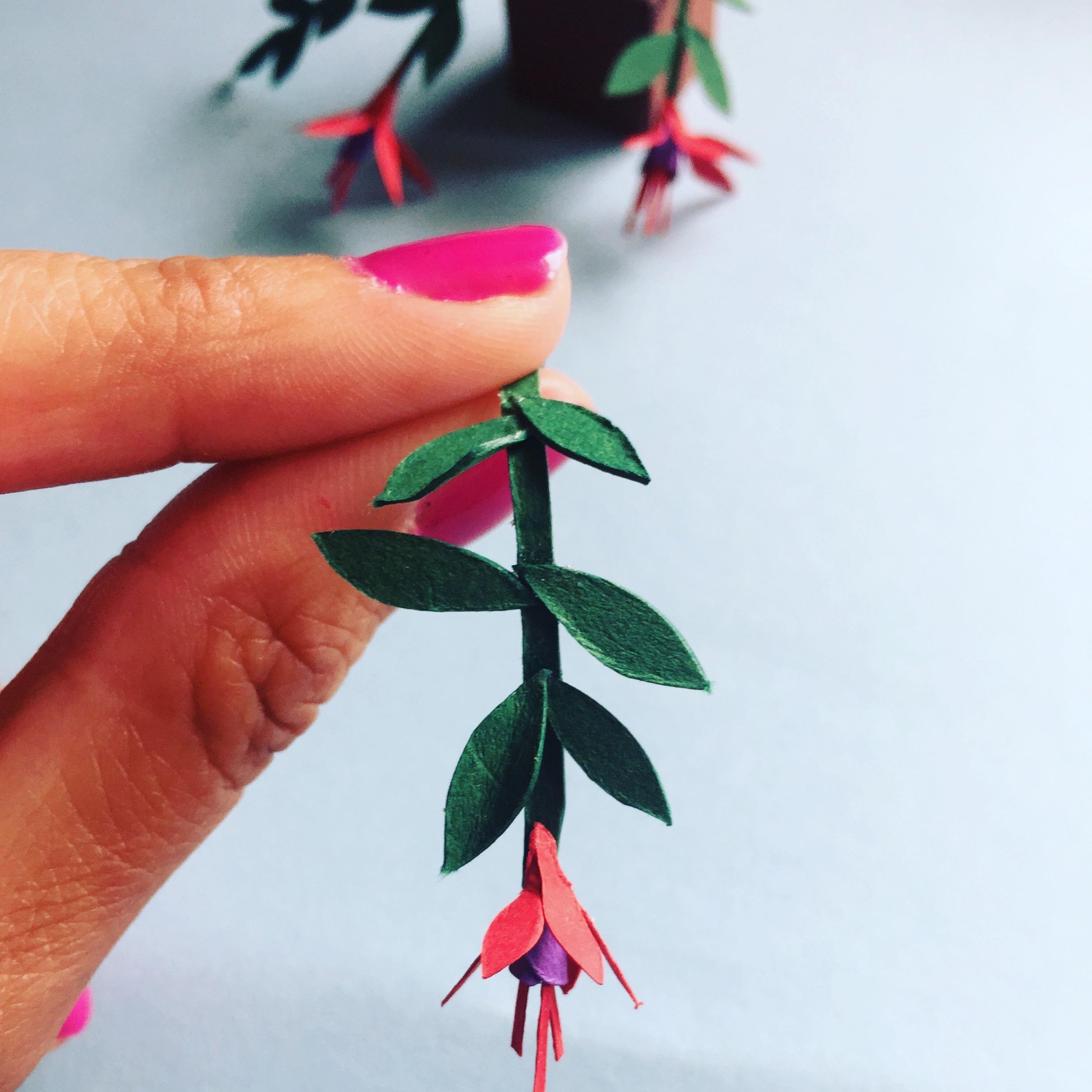 Paper Flowers Silvina De Vita