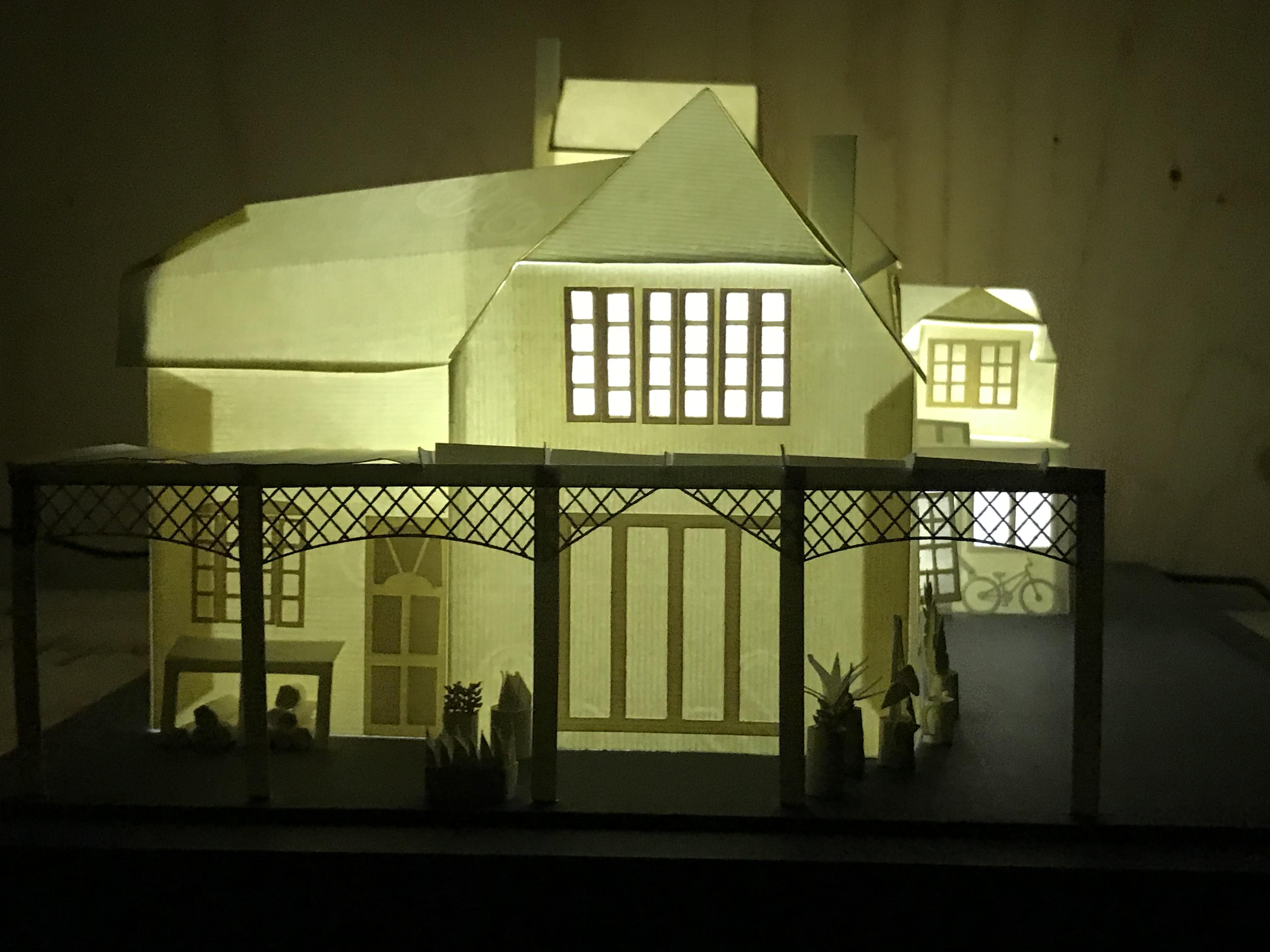 3d paper model – Silvina De Vita